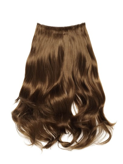 Curly Hair Weft With Clip
