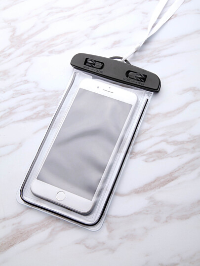 Clear Waterproof Oversized Phone Bag