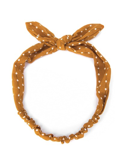 Graphic Print Cute Ear Headband