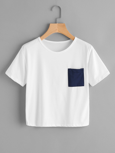 Patch Chest Pocket Tee