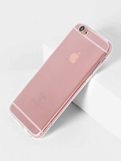 Funda para iphone simple transparente