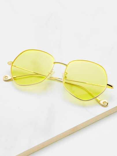 Tinted & Flat Lens Sunglasses