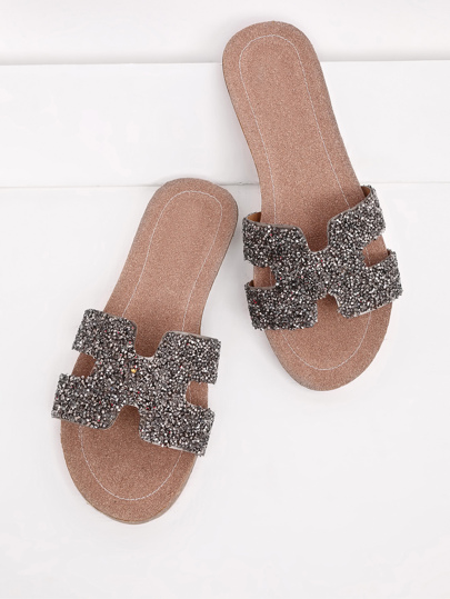 Glitter Cutout Design Sliders
