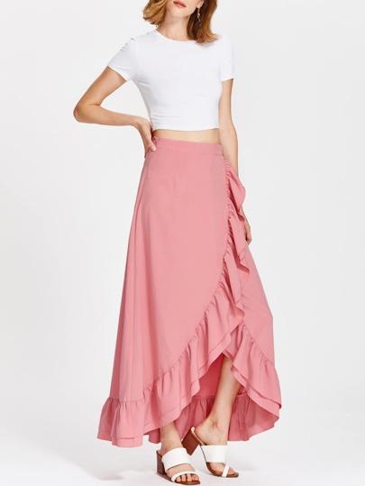 تنورة وردي
