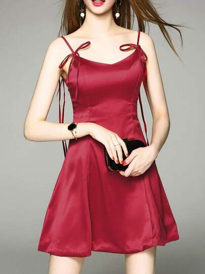 Spaghetti Strap Sexy Dress