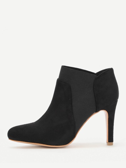 Pointed Toe Stiletto Heel Boots