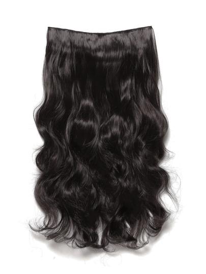 Dark Brown Clip In Soft Wave Hair Extension