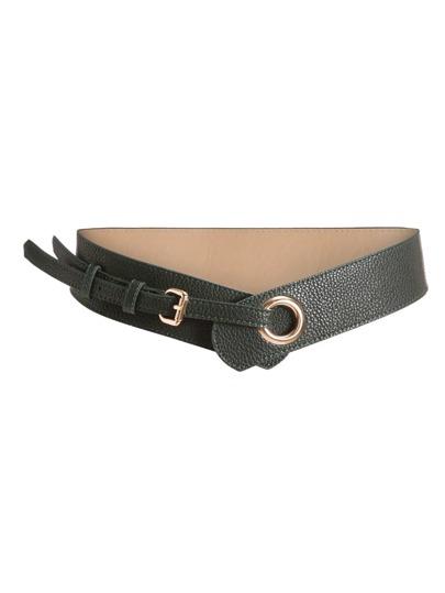 Cintura con detalle de anillo