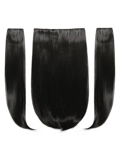 Модные синтетические волосы 3 шт. с заколкой