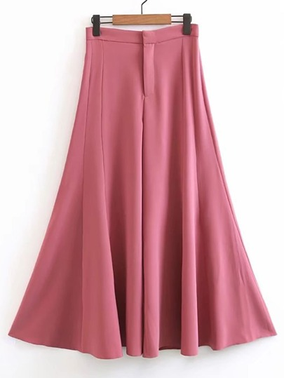 Wide Leg Bell-Bottoms Pants