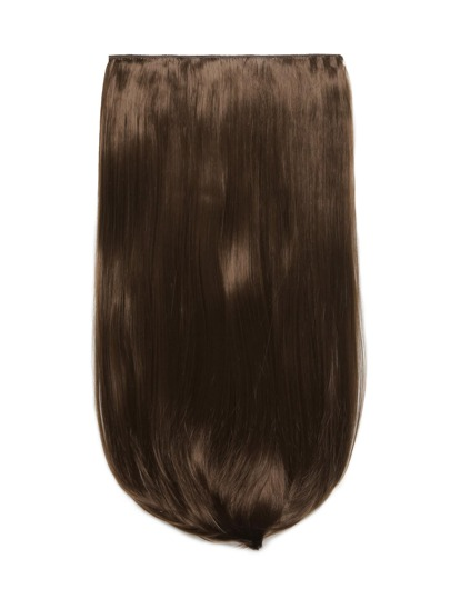 Chestnut Clip In Straight Long Hair Extension
