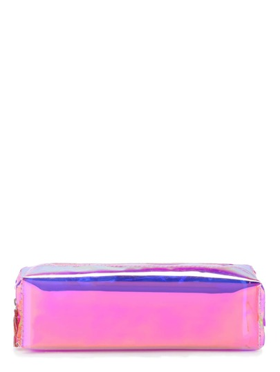 Iridescent Pencil Case With Tassel