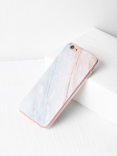 Funda para iPhone con estampado de piedra
