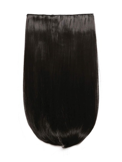 Dark Brown Clip In Straight Hair Extension