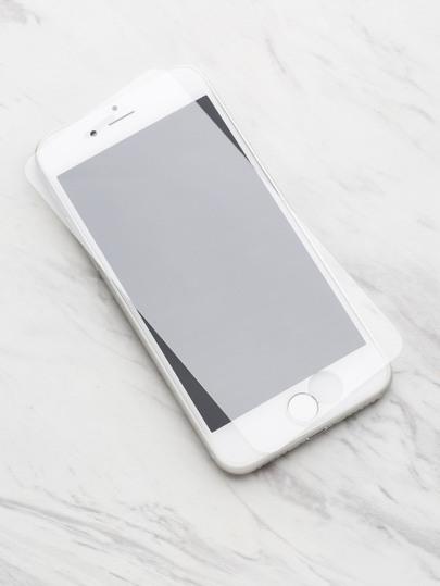 Protector de la pantalla de cristal para iPhone