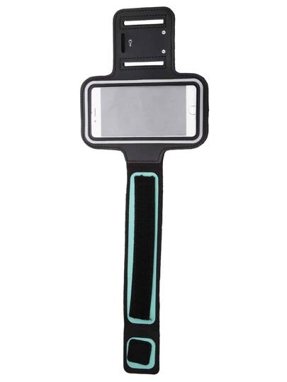 Чёрный спортивный чехол для мобильного телефона 4.7 дюймов