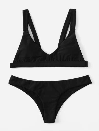 High Leg Bikini Set