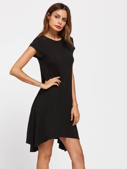 Hanky Hem Swing Tee Dress
