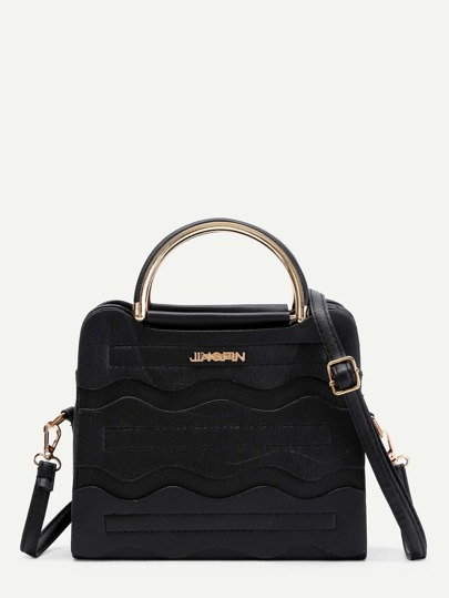 PU Grap Bag With Adjustable Strap