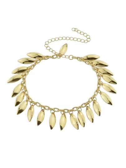 Gold Color Fashion Pendant Bracelet