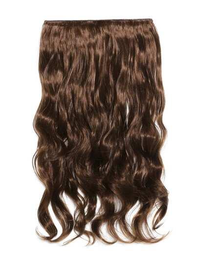 Extensión del pelo ondulado suave