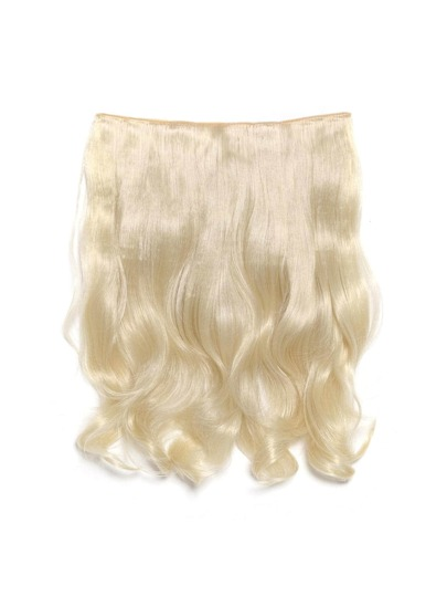 Pure Blonde Clip In Soft Wave Hair Extension
