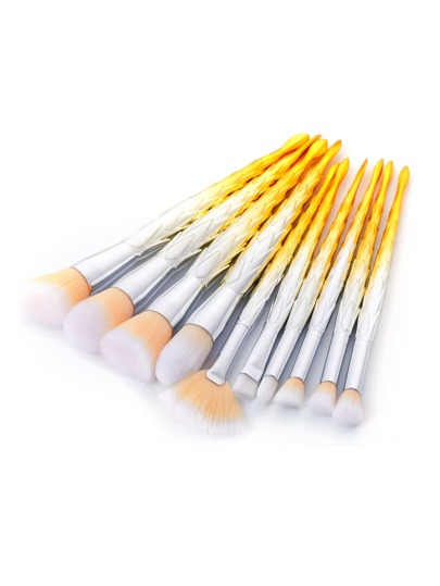 Professional Ombre Makeup Brush 10pcs