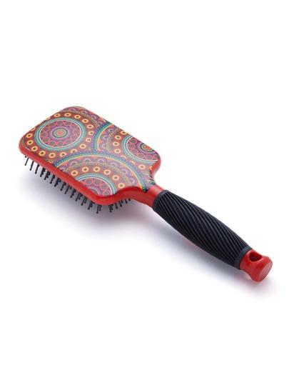 Cepillo del pelo con estampado
