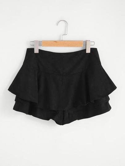 Pantaloncini con cerniera sul retro