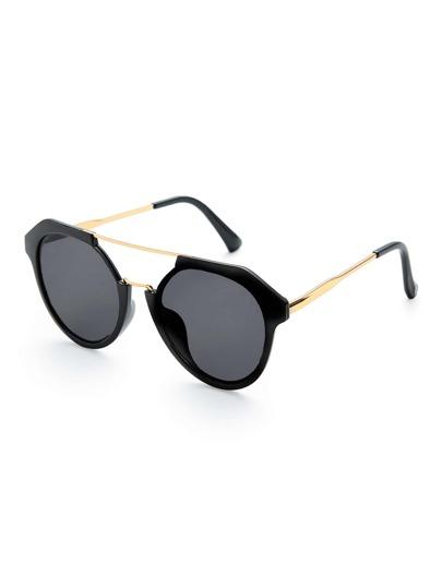 Gafas de sol con barra superior