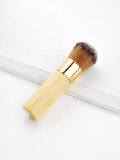Wood Handle Powder Brush