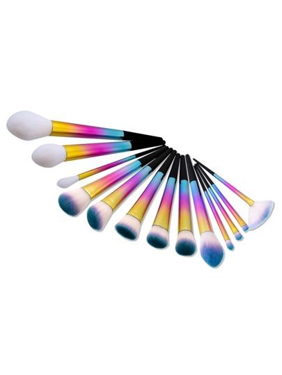 Ombre Soft Bristle Makeup Brush 13pcs