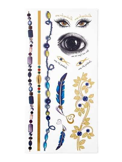 Eye & Bracelet Tattoo Sticker