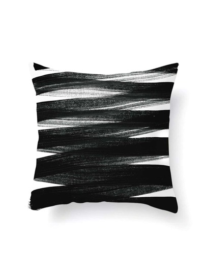 Funda de almohada en dos tonos
