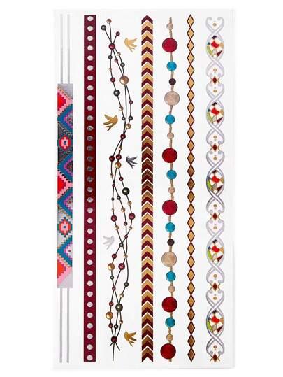 Tätowierungsaufkleber mit mehrfachen Formen