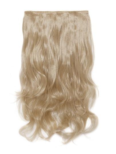 Estensione dei capelli morbidi con clip