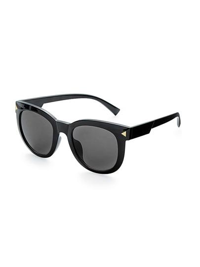 Gafas de sol con lente oval