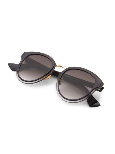 Gafas de sol con montura doble