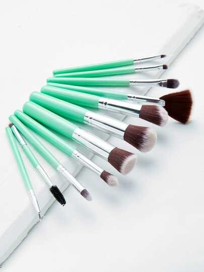 11 piezas de pinceles de maquillaje profesional