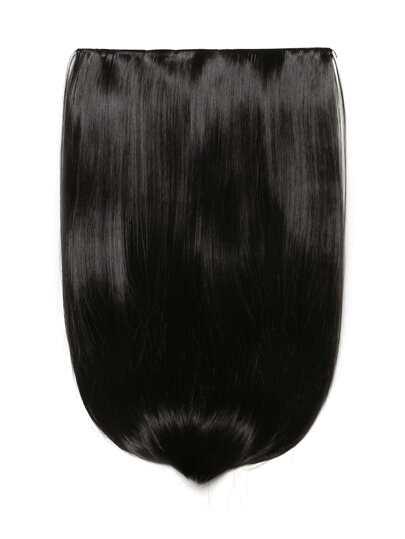Dark Brown Clip In Straight Hair Extension