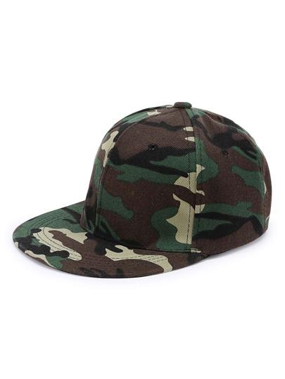 Gorra de béisbol camuflaje