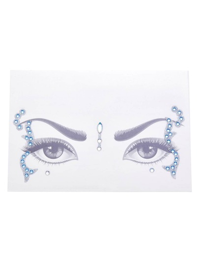 Acrylic Rhinestone Eye Stickers