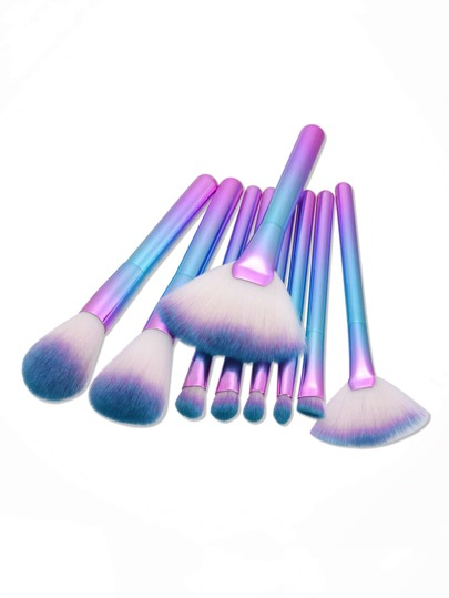Brosse de maquillage ombre professionnelle 9 pièces