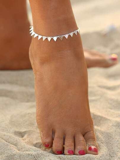 Bracelet triangle géométrique
