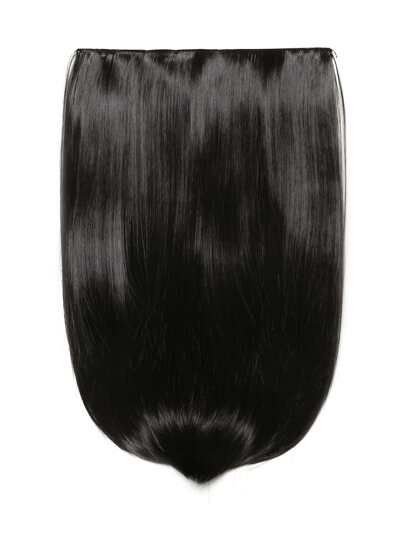 Raven Clip In Straight Hair Extension