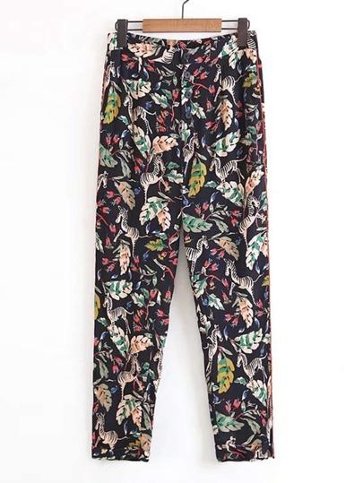 Pantaloni stampati