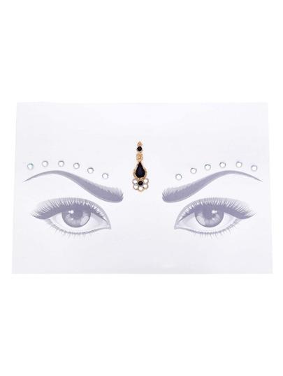 Contrast Gemstone Eye Jewel Sticker