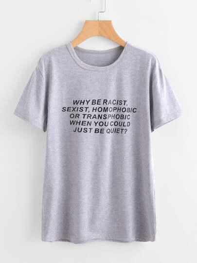 T-shirt stampato
