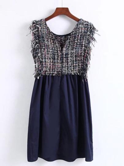 2 In 1 Ärmeloses Kleid