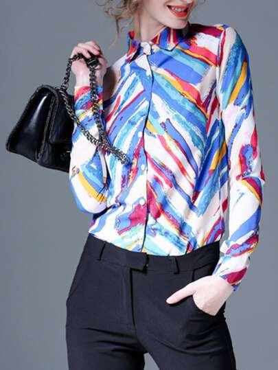Shirt imprimé coloré